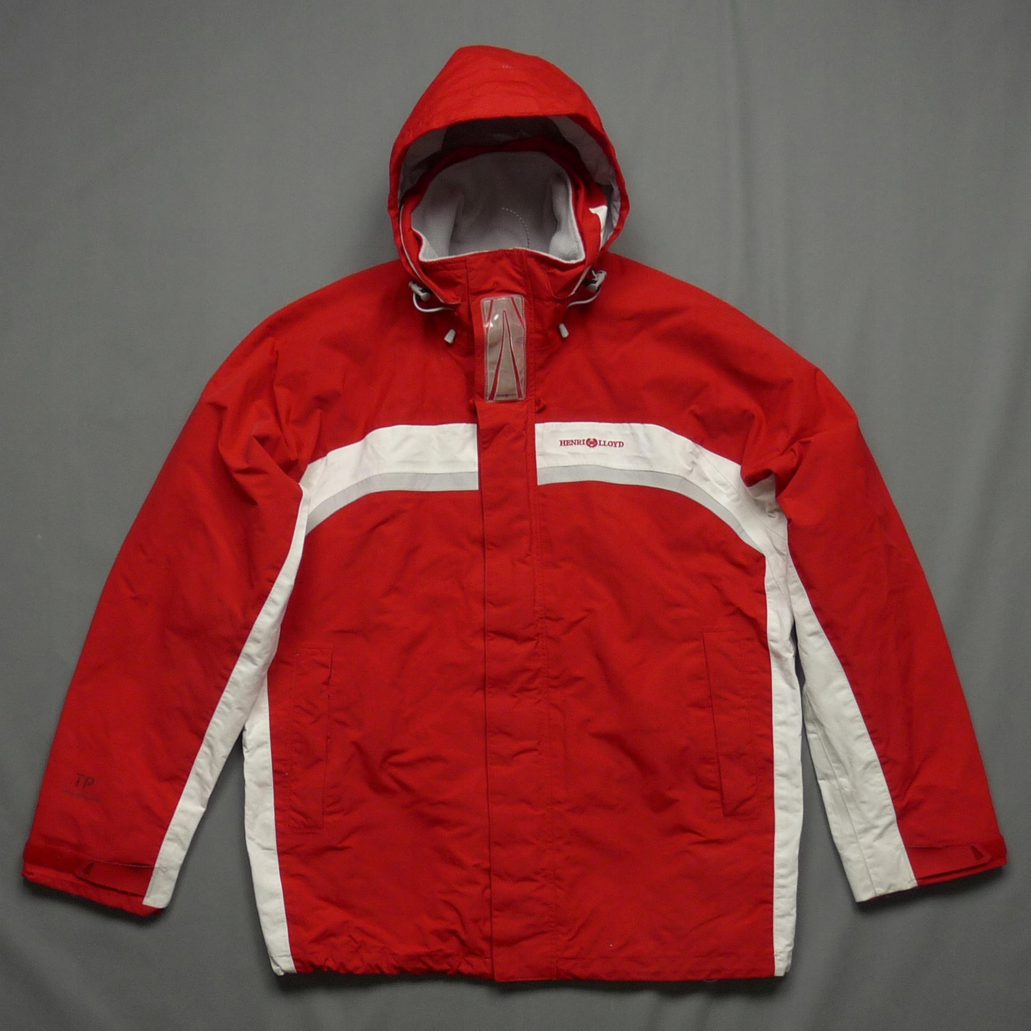 HENRI LLOYD czerwona kurtka sztormiak premium L
