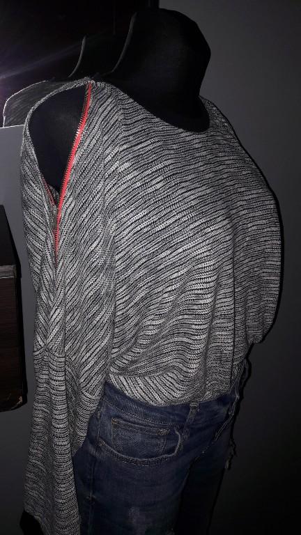 Asos bluza odkryte ramiona off shoulders M