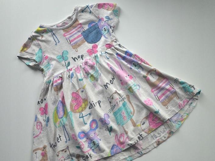 Sukienka bawełniana Next 110 cm 5 lat