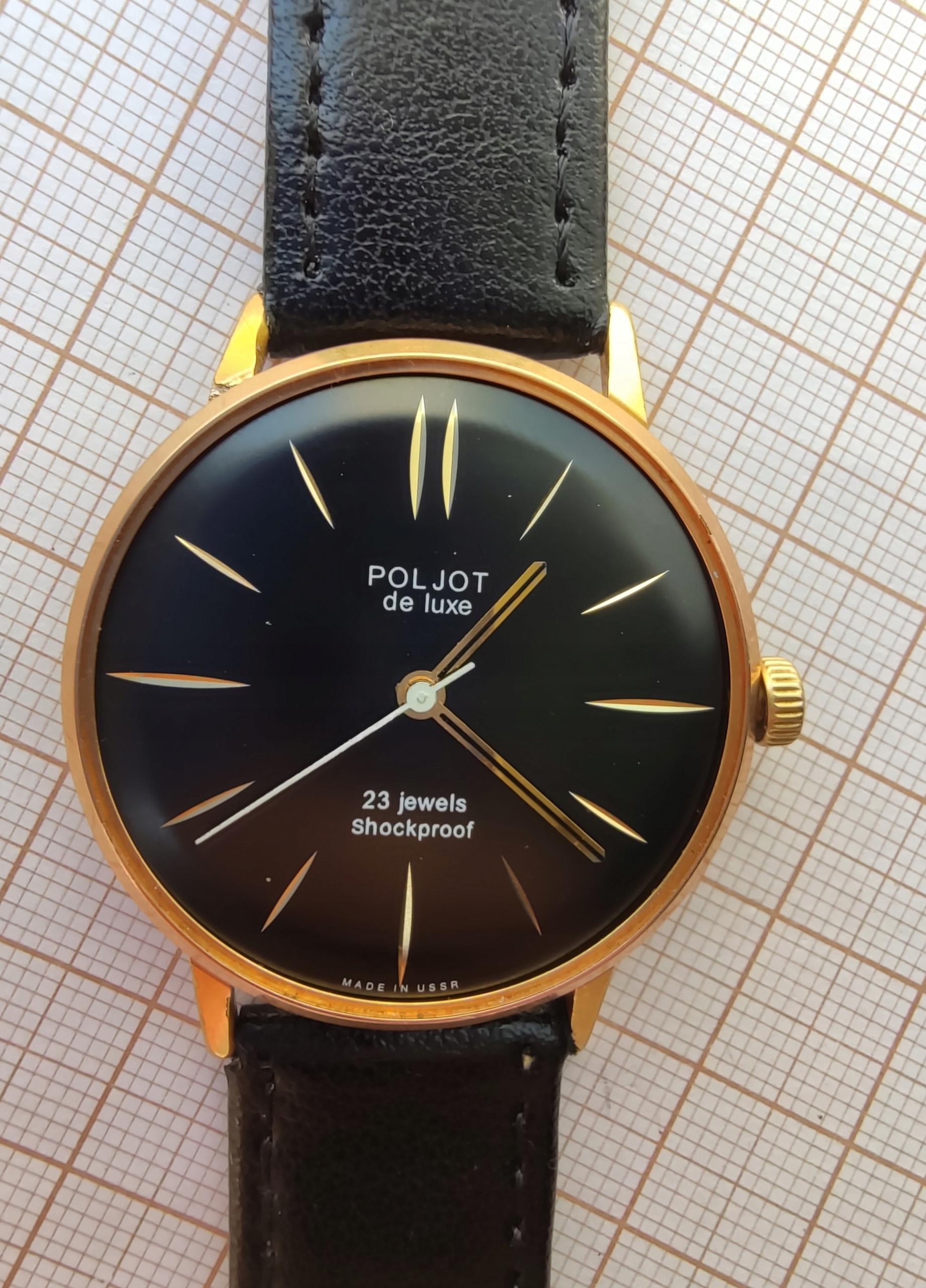 zegarek Poljot De LUXE 23 jewels