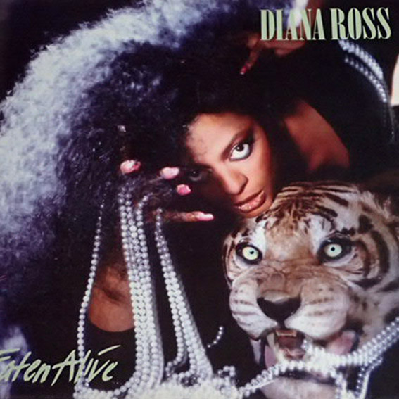 Diana Ross - Eaten Alive (Lp) Super Stan