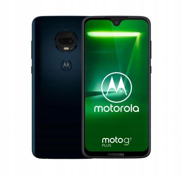Smartfon Moto G7 Plus DS 4/64GB Deep Indigo