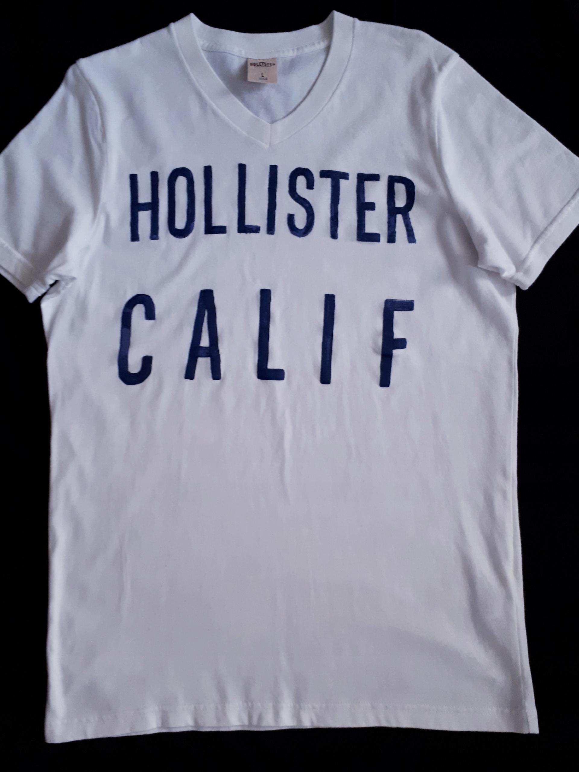 Hollister super koszulka M/L J. Nowa