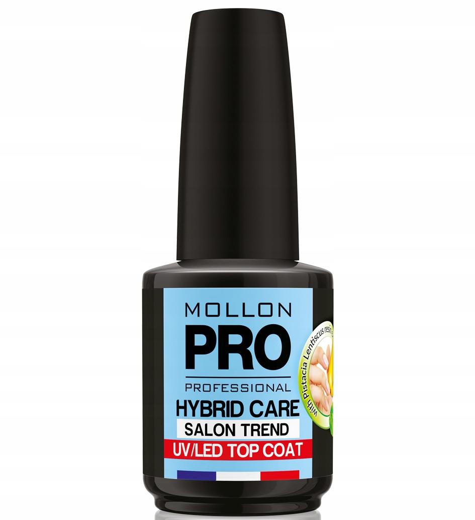 Mollon Pro Top nawierzchniowy do hybryd 15 ml+GIFT