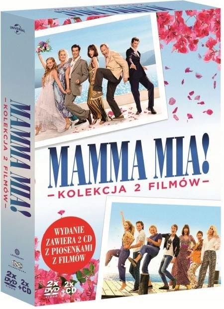 Mamma Mia / Mamma Mia. Here We Go Again 2xDVD+2xCD