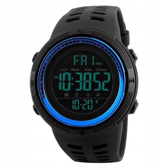 Zegarek męski SKMEI elektroniczny stoper datownik