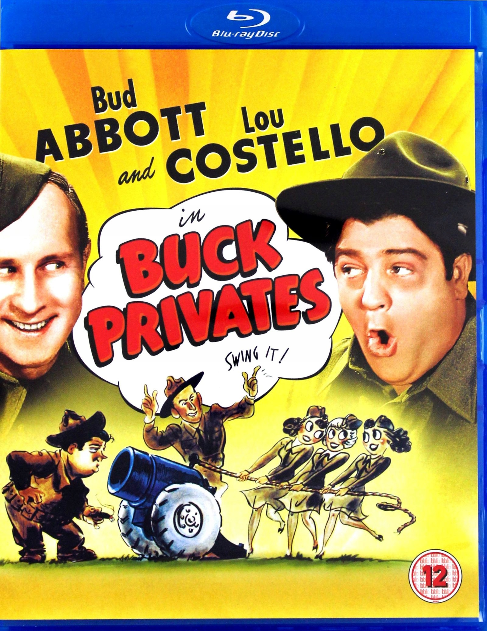 BUCK PRIVATES (EN) [BLU-RAY]