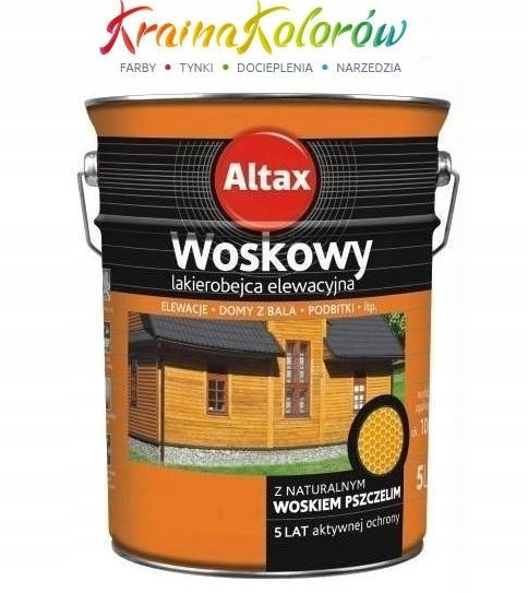 Altax Woskowy Lakierobejca 2.5L Kasztan