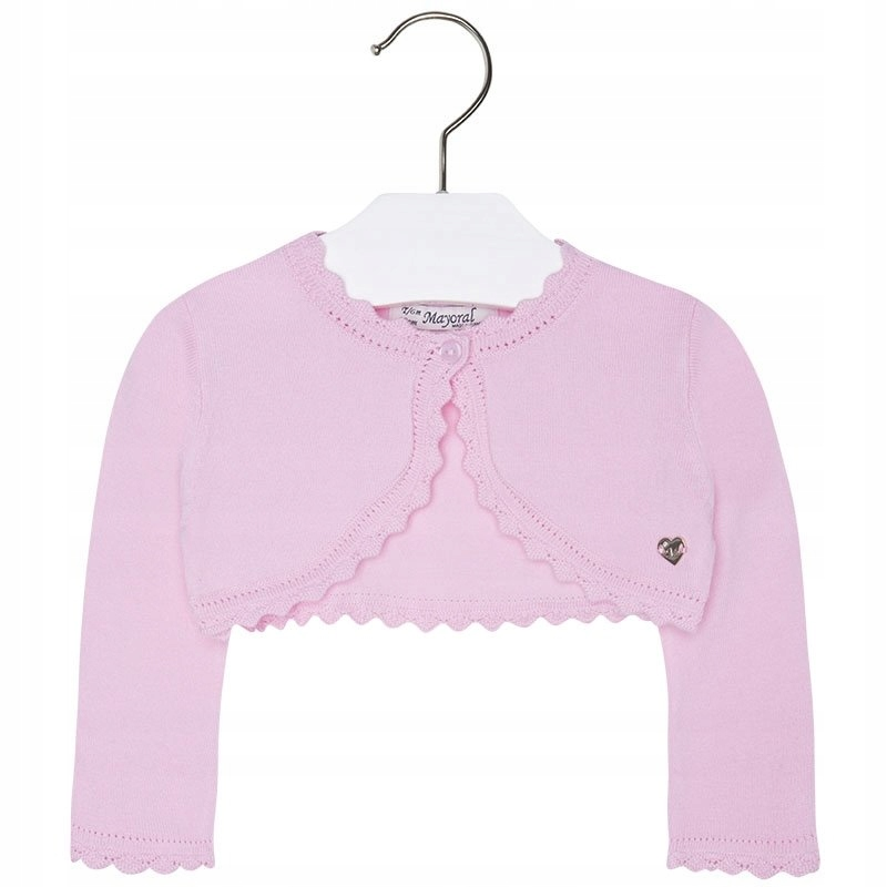 Bolerko różowe sweterek Mayoral NEW r 74