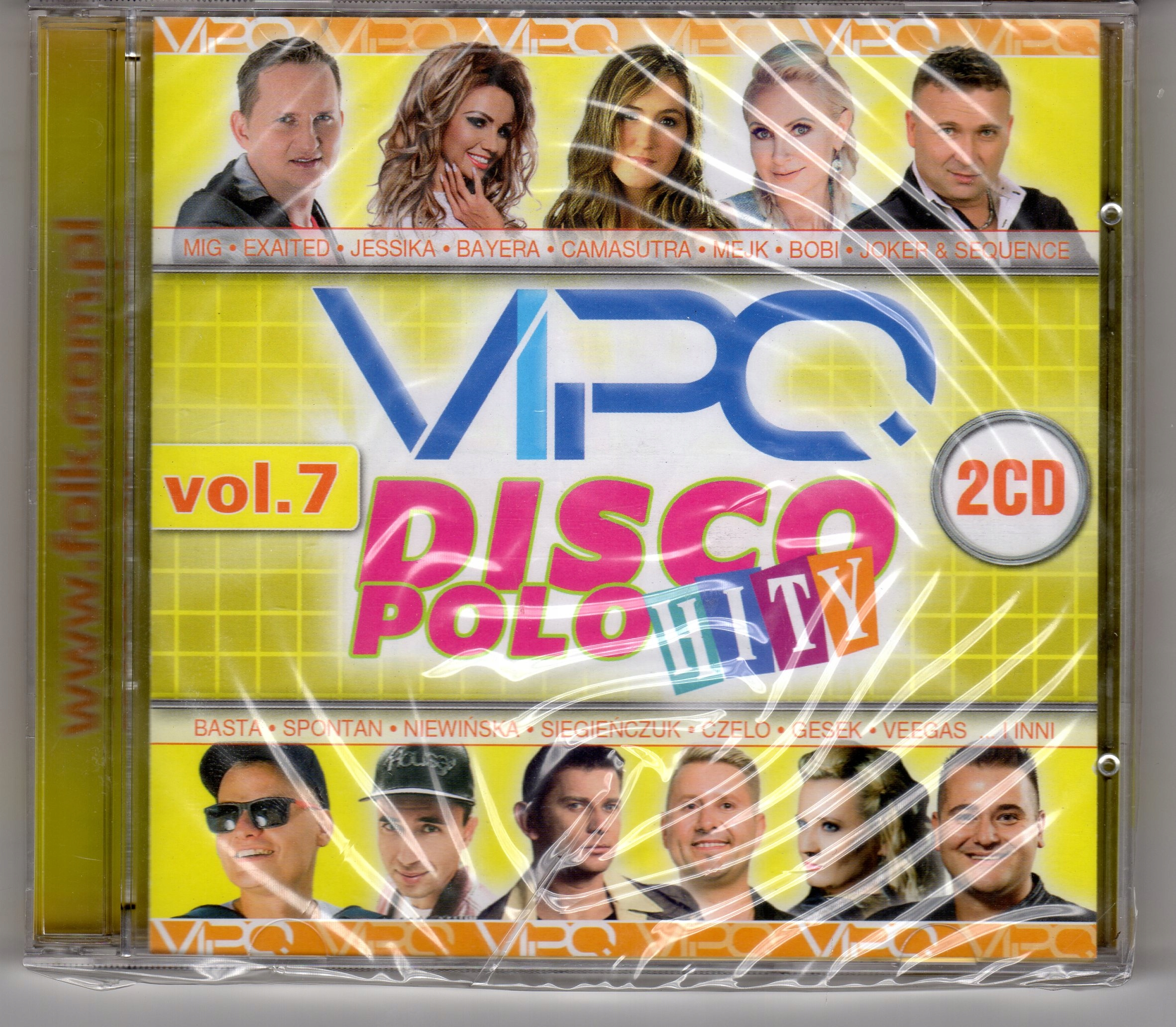 VIPO DISCO POLO HITY VOL. 7 2CD