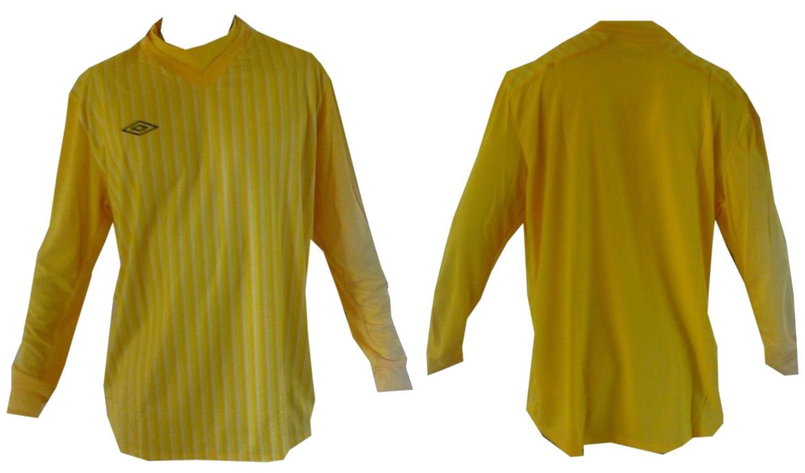 BIE0217 Koszulka UMBRO Bramkarska 2XL żółta+