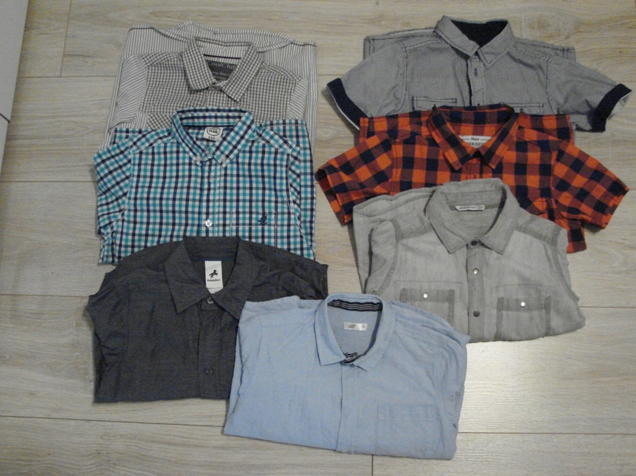 Zestaw koszul 110-116 idealne H&M CoolClub 7sz