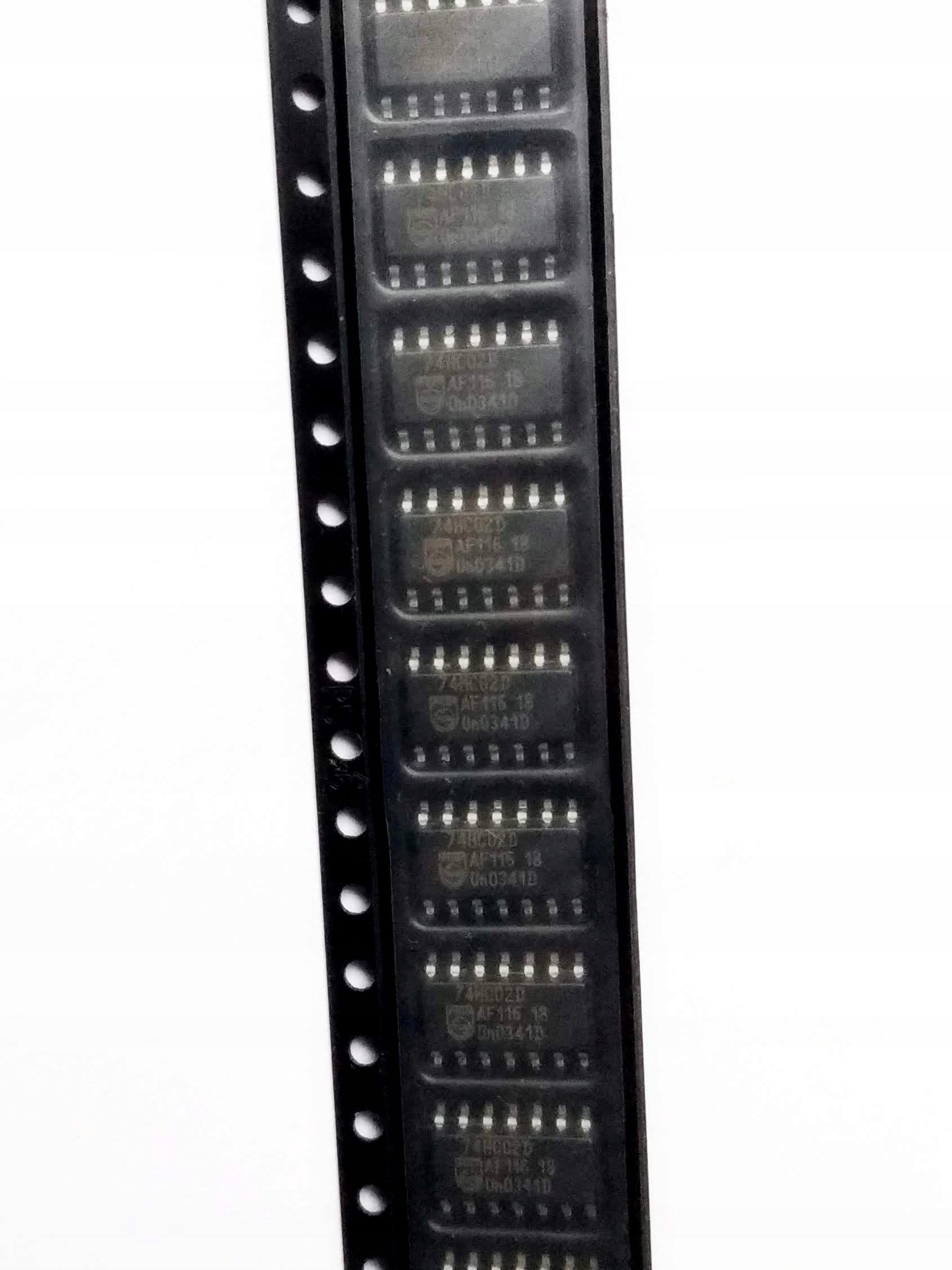 74HC02 SO14 4x dwuwejściowa bramka NOR - 10 szt.