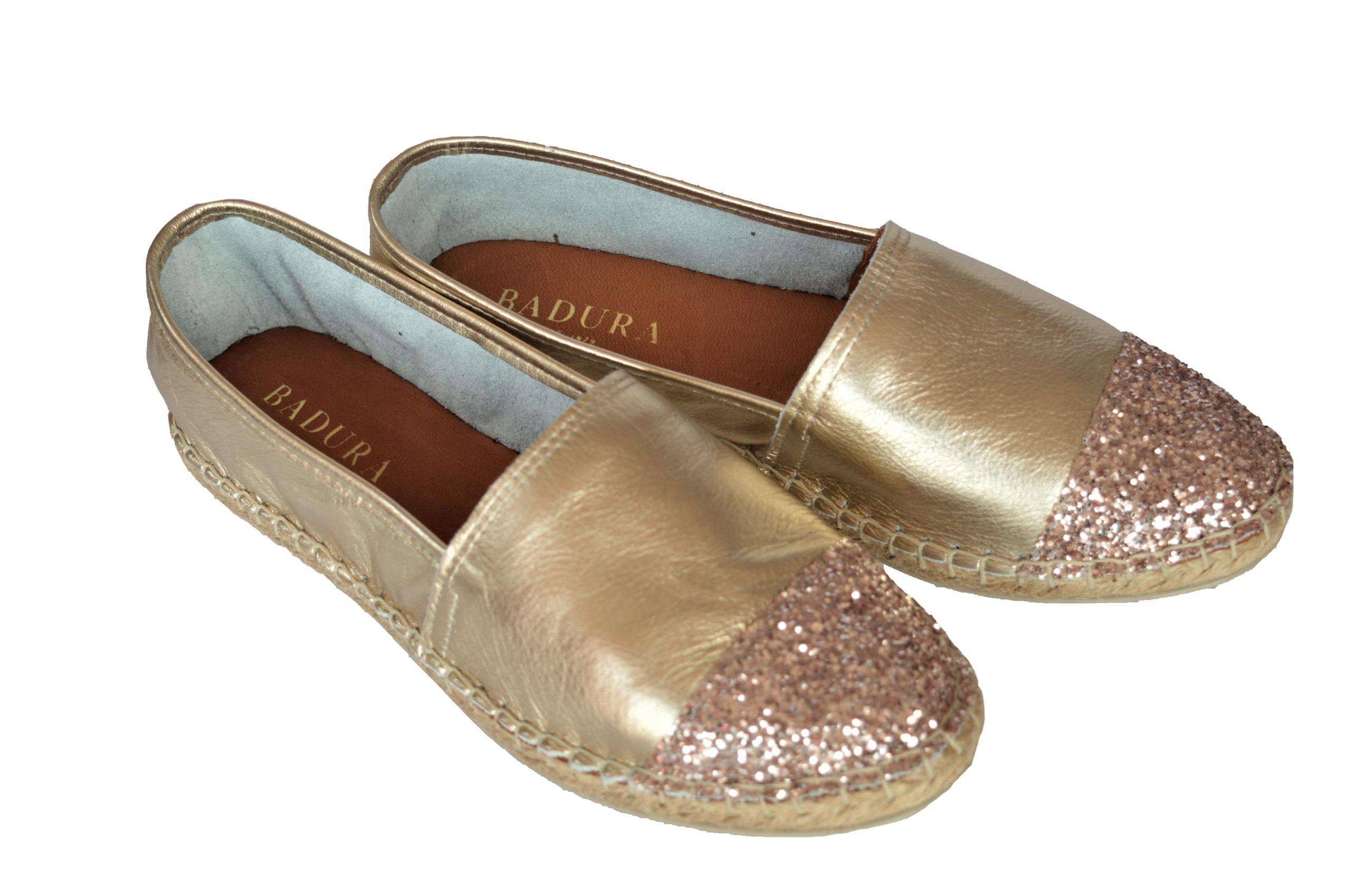 Badura 6544-60, espedryle, obuwie damskie. roz. 38