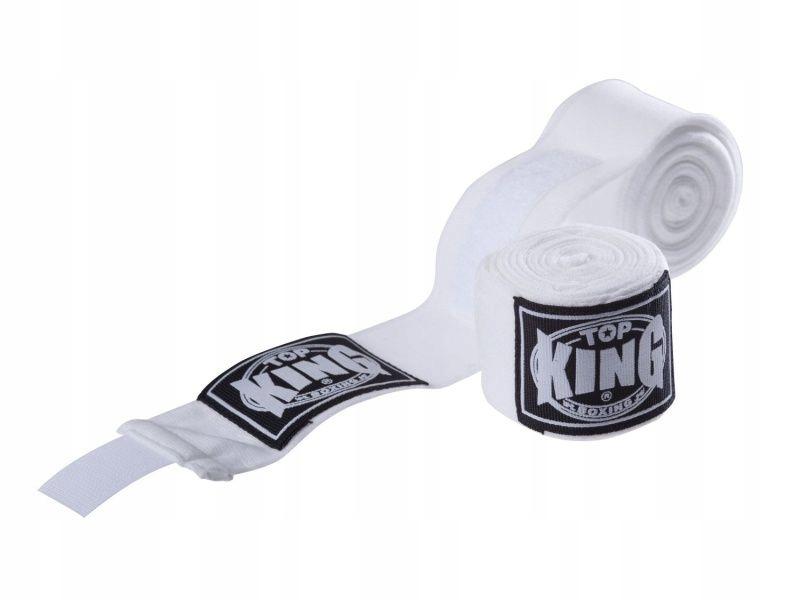 OWIJKI NA DŁONIE TOP KING TKHWR-01 (white) 4M