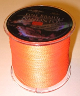 PLECIONKA NIHONTO FINE BRAID ORANGE 0,30mm/300m