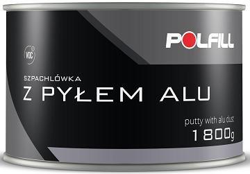polfill z pyłem alu szpachla