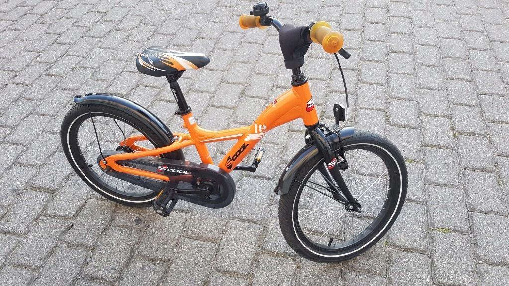Rower S'cool dziecięcy 18 cali Scool