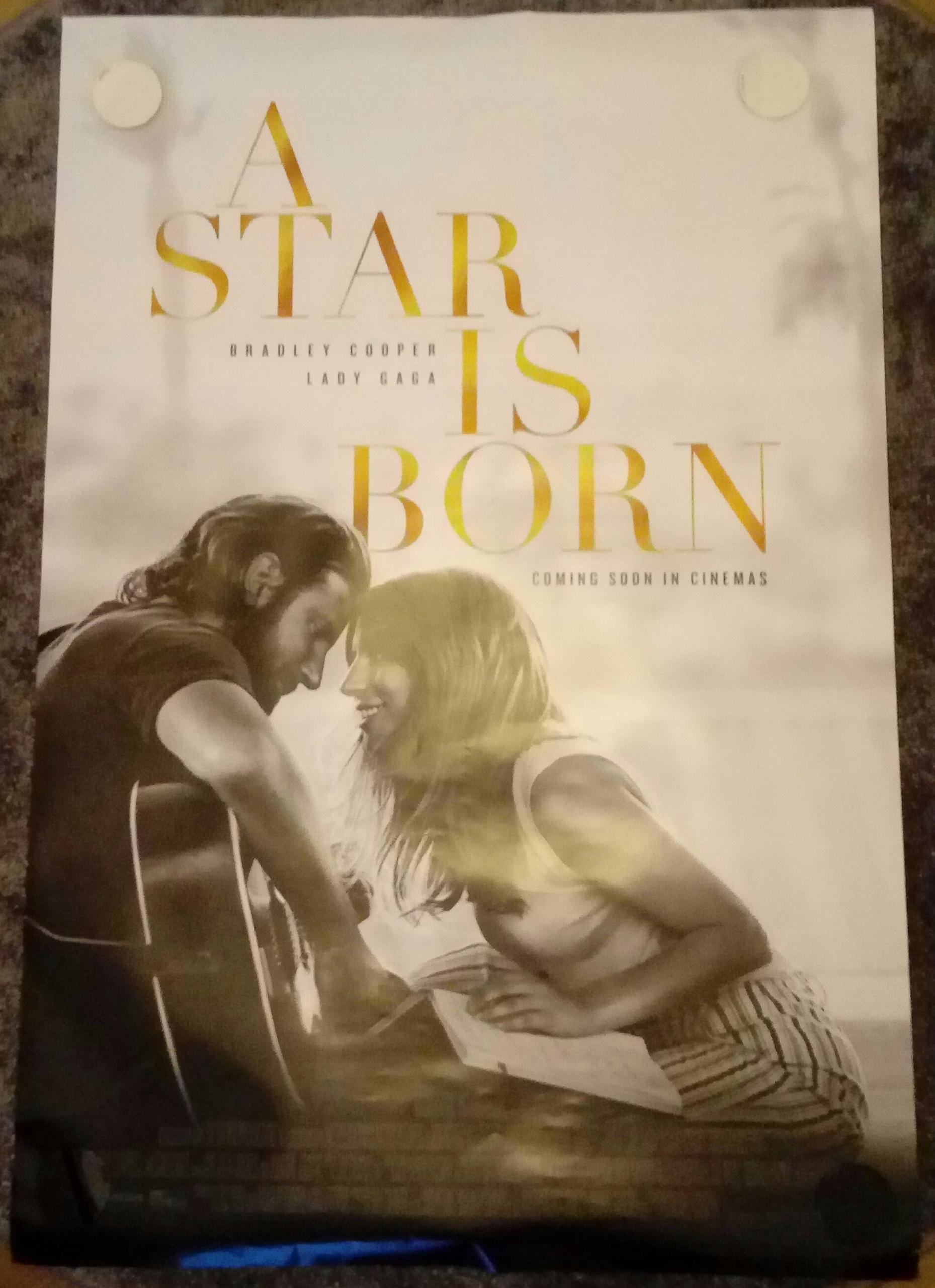 A Star Is Born Narodziny Gwiazdy Plakat Gaga