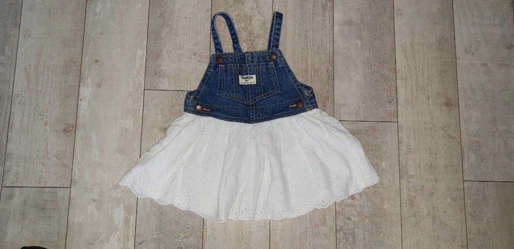 sukienka ogrodniczka spódniczka na szelkach jeans