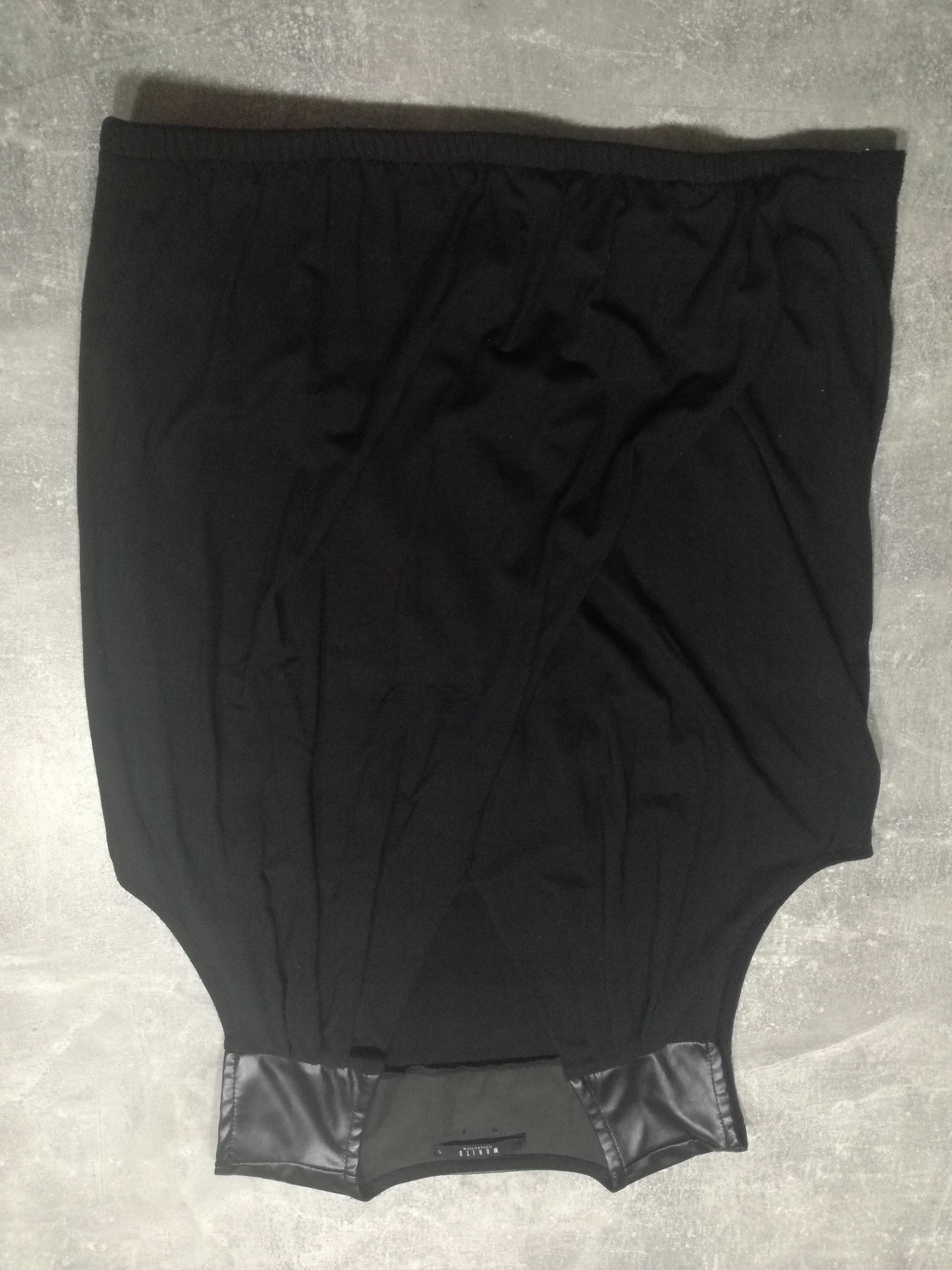 Czarna bluzka Mohito S używana wygodna