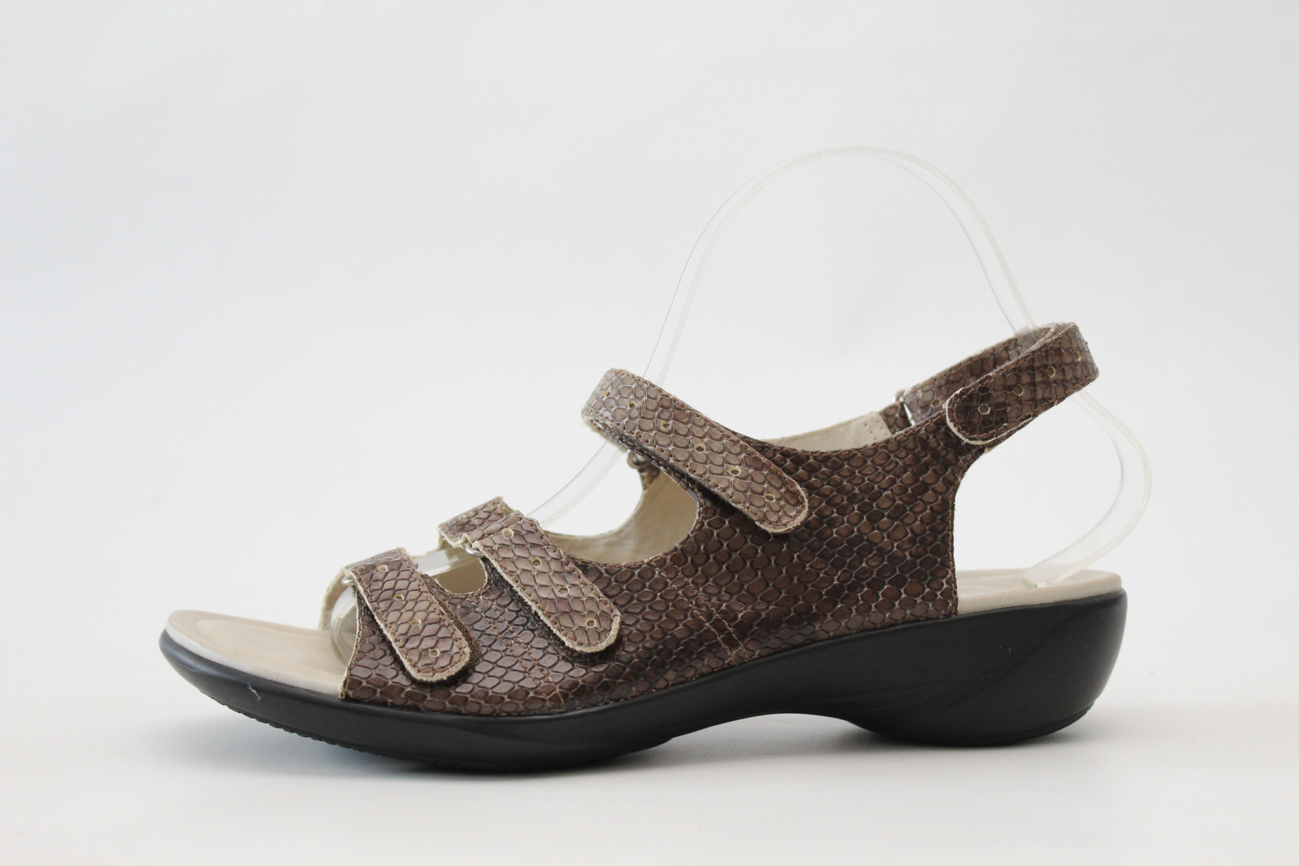 K BY CLARKS - skórzane sandały IDEALNE 41 (26 cm)