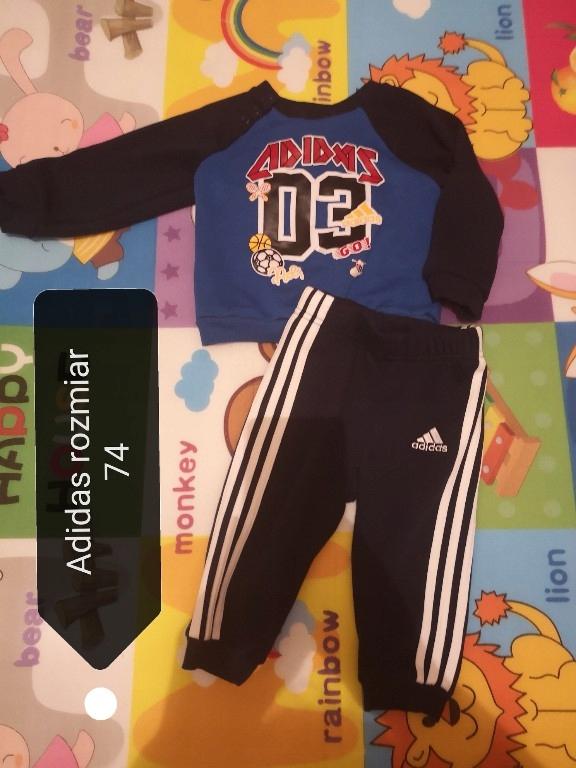 Dres Adidas dzieciecy 7724329686 oficjalne archiwum allegro