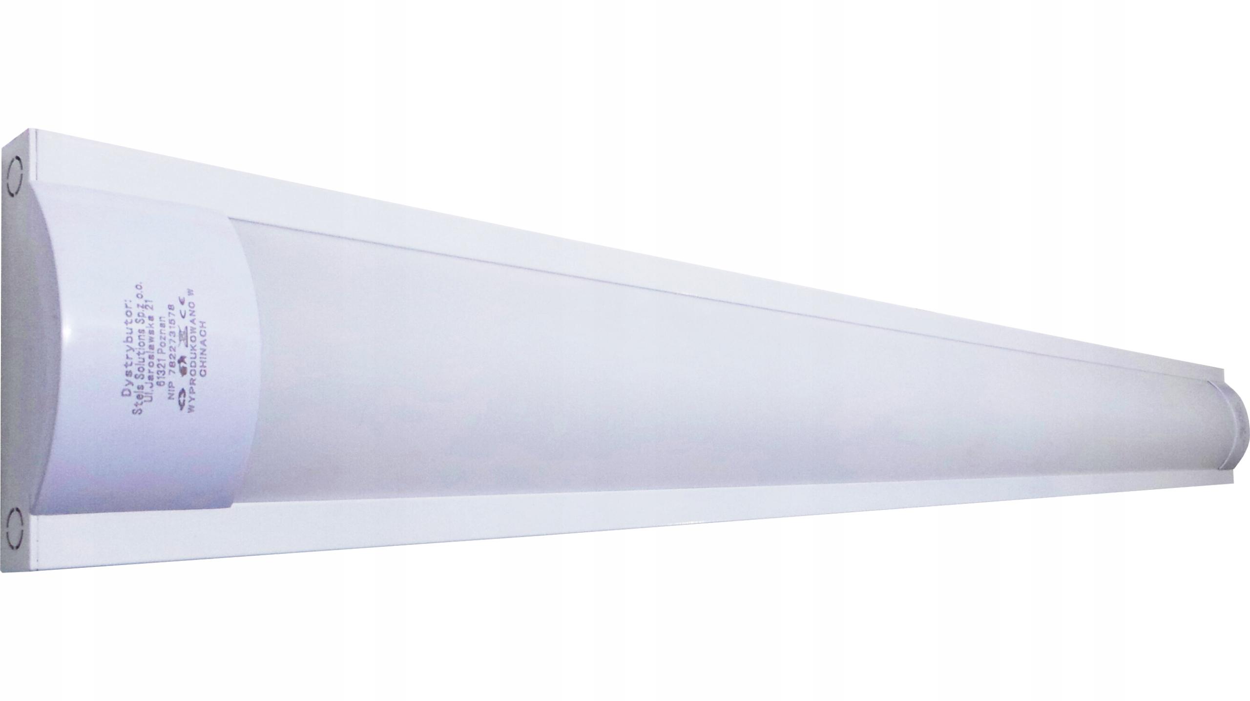 Lampa Led Do Garażu świetlówka 120w Biała 6500k 7789723876