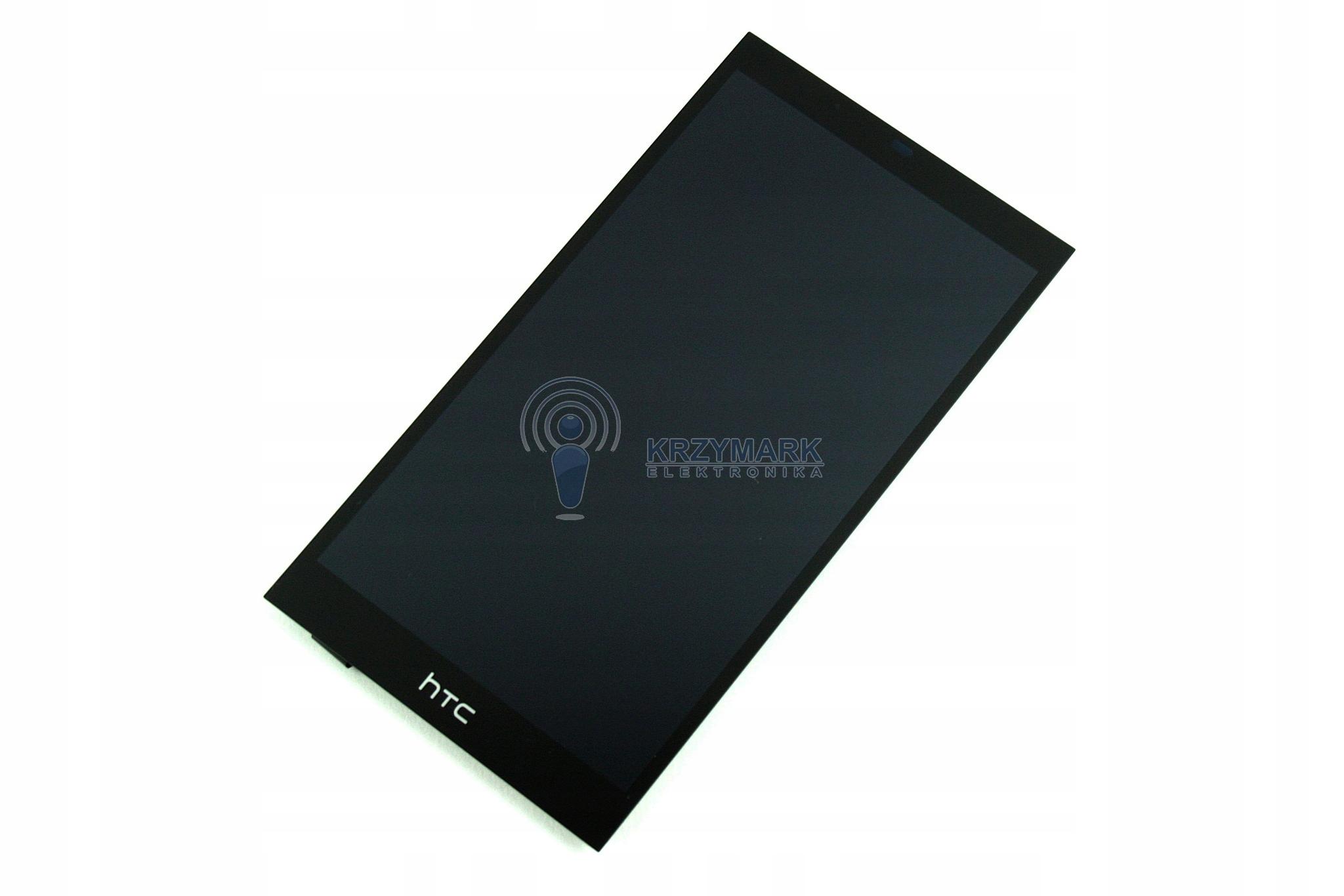KOMPLET ORYGINALNY LCD + DOTYK HTC DESIRE NOWY 530