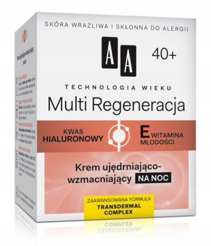 AA TECHNOLOGY AGE 40+ KREM NA NOC 50ml