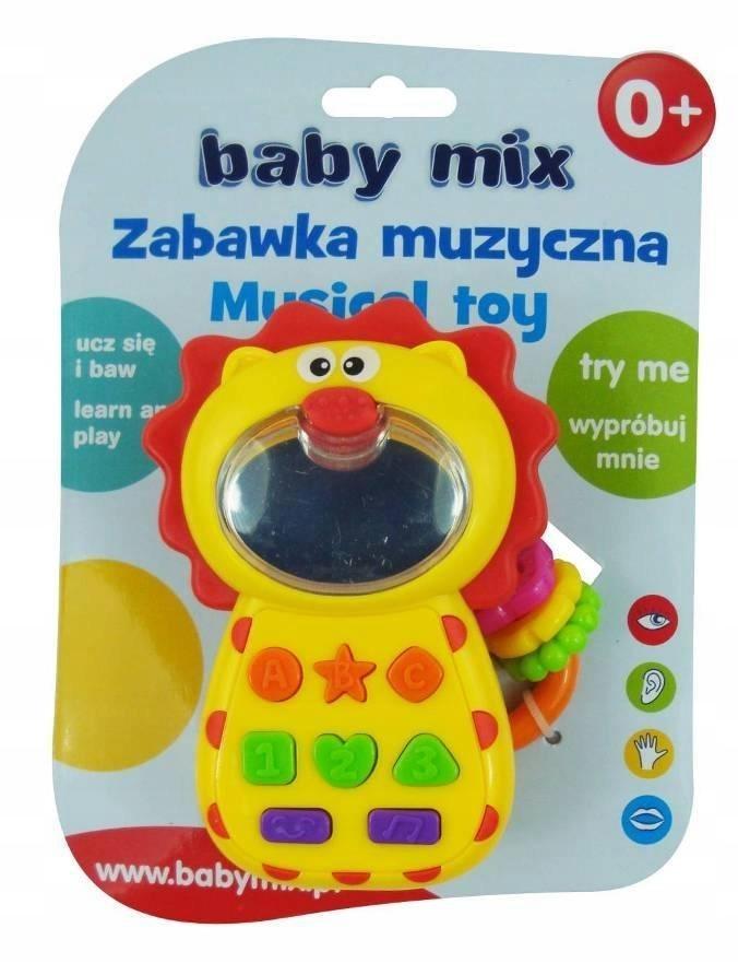ALEXIS KP-0680B Muzyczny telefonik lew
