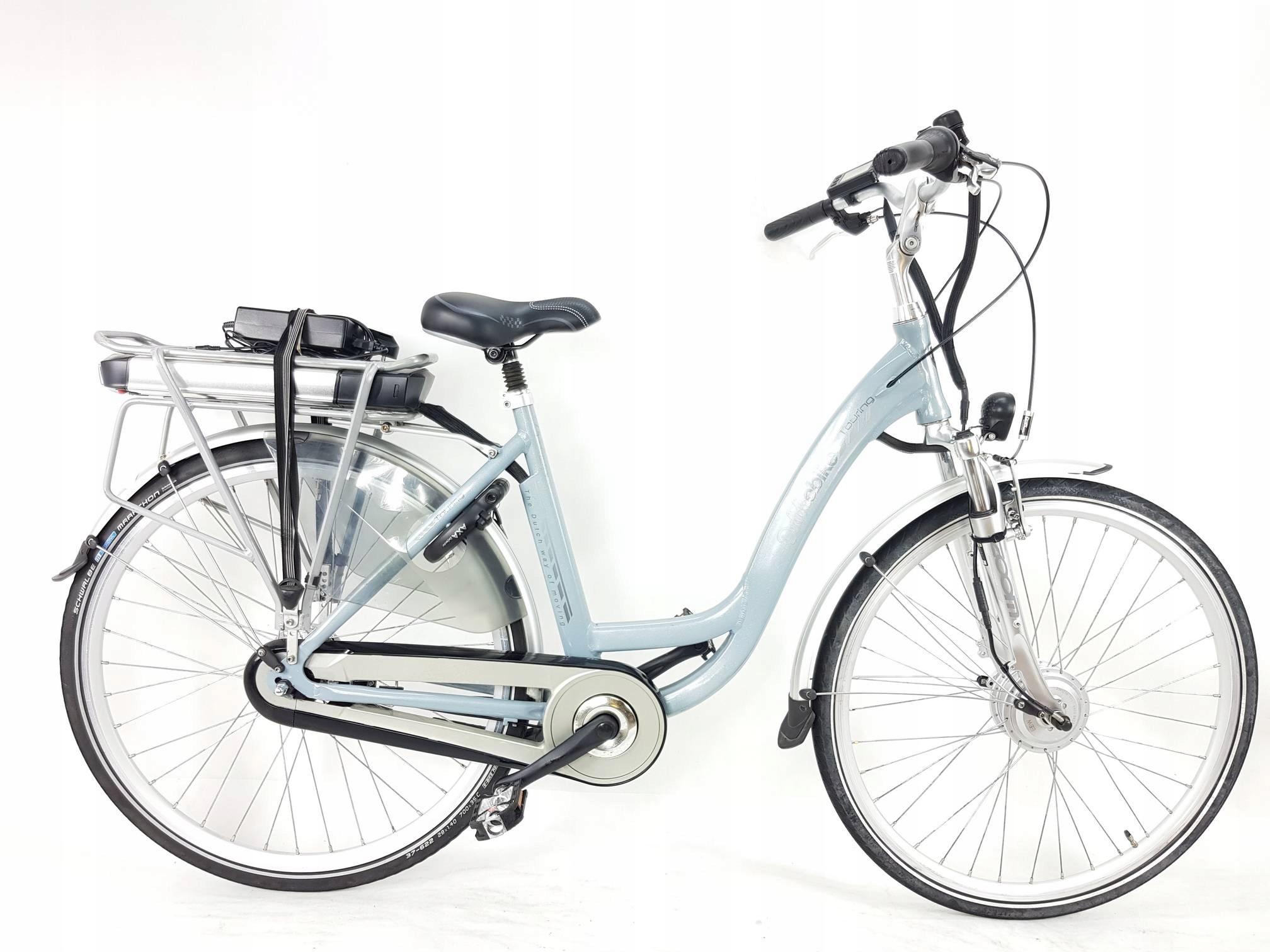 Dutchebike Touring rower elektryczny 28'', zadbany