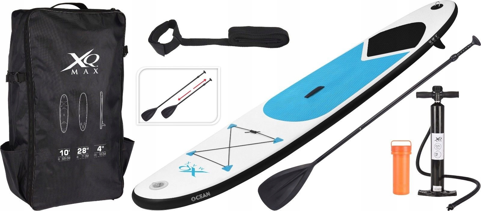XQ Max SUP Deska Surfingowa PaddleBoard 305cm