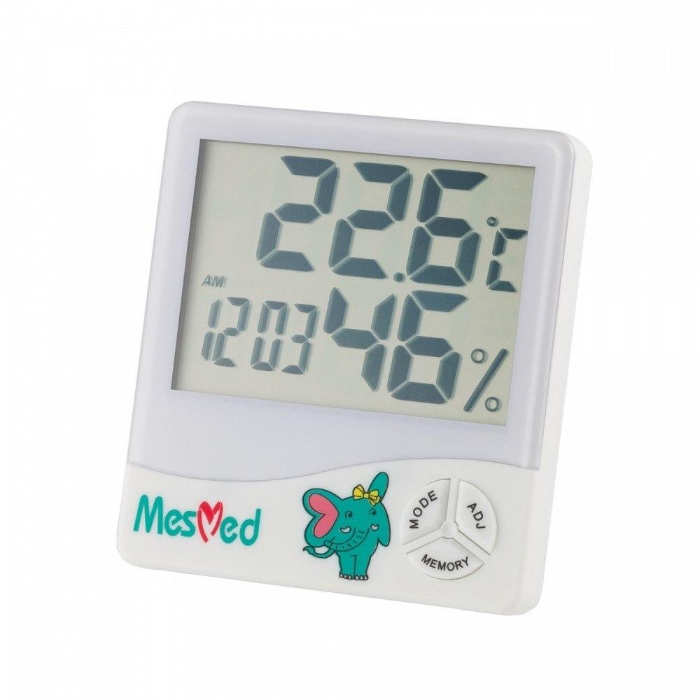 Higrometr MM-777 Higo z funkcją termometru i zegar