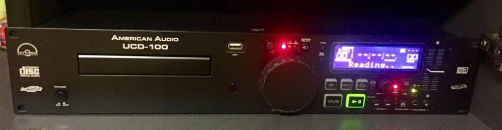 American Audio UCD100 Odtwarzacz