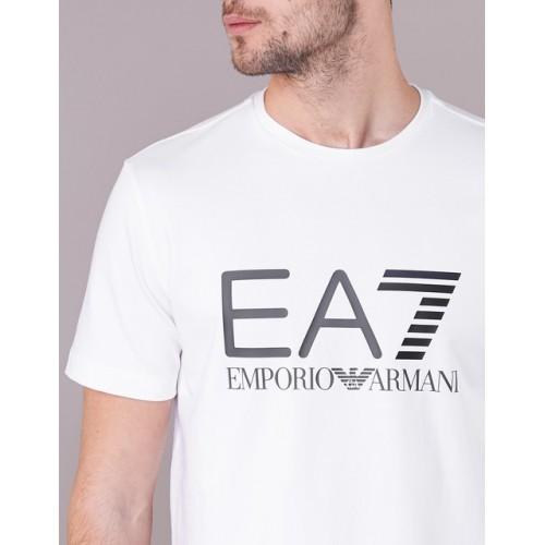 Koszulka EMPORIO ARMANI EA7 T-SHIRT LOGO BIAŁA xL