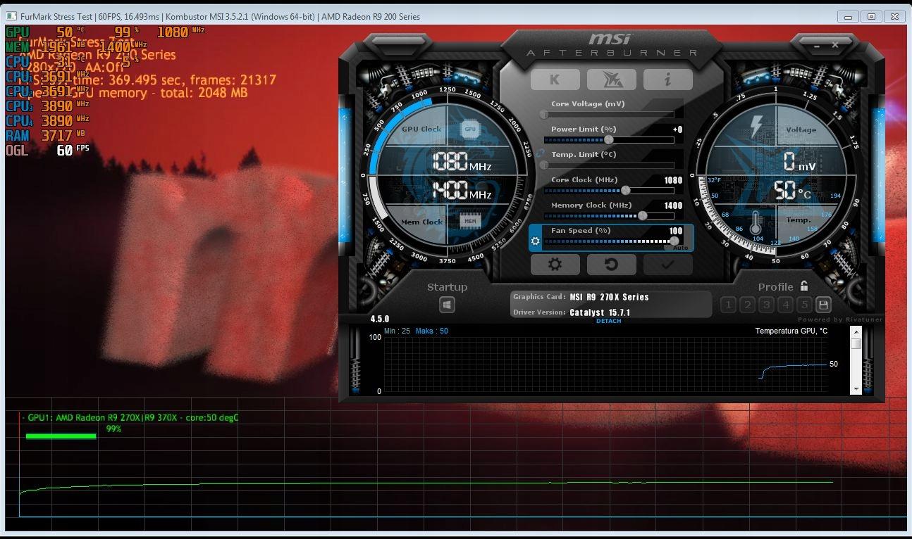 Karta Graficzna MSI R9 270X Gaming OC 2GB Hynix - 7866926518