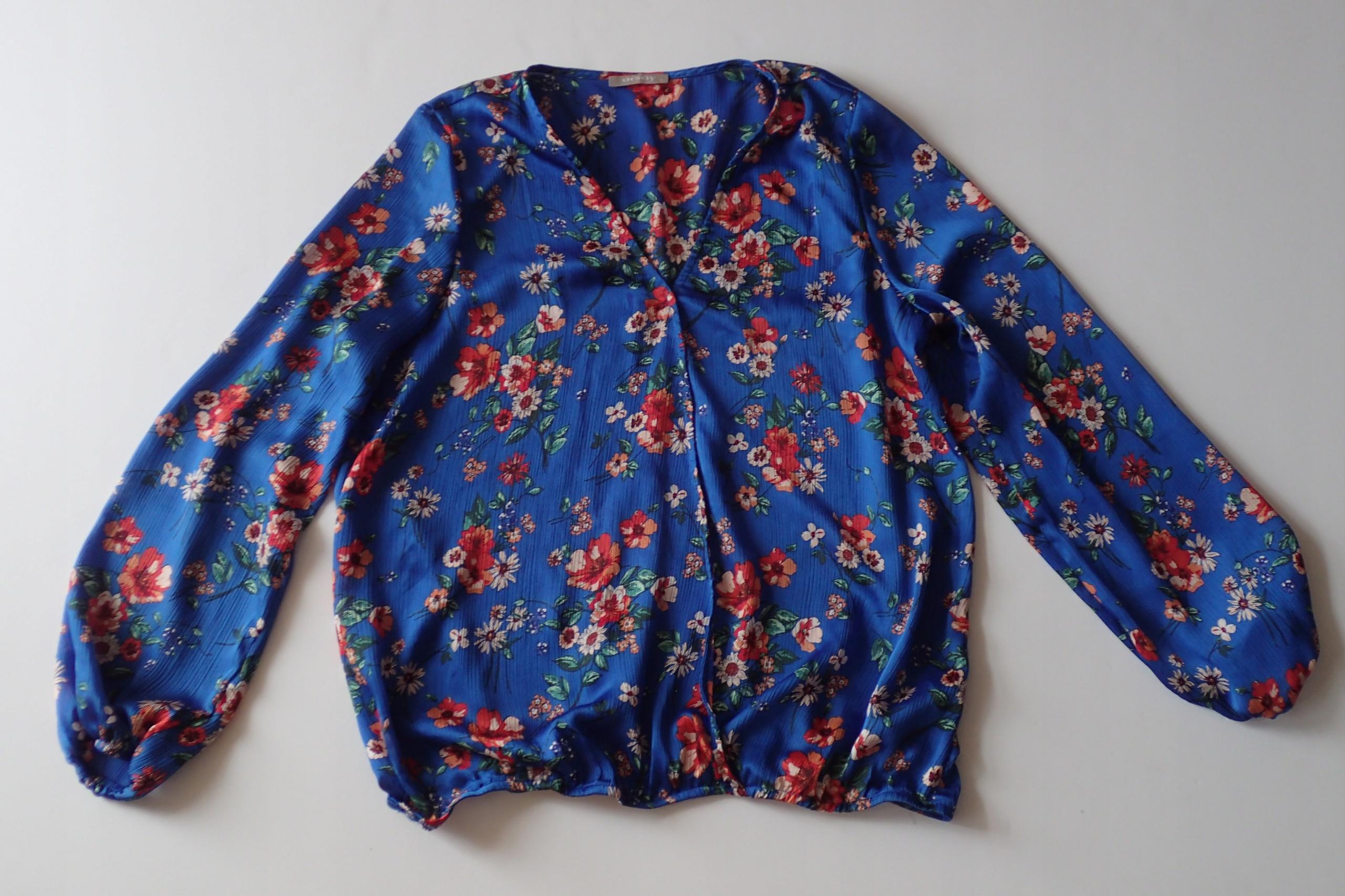 bluzka kwiaty ORSAY roz 38 stan bdb