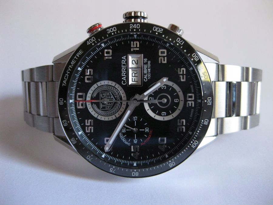 TAG HEUER CARRERA CHRONOGRAPH DAY DATE LIMITED EDT