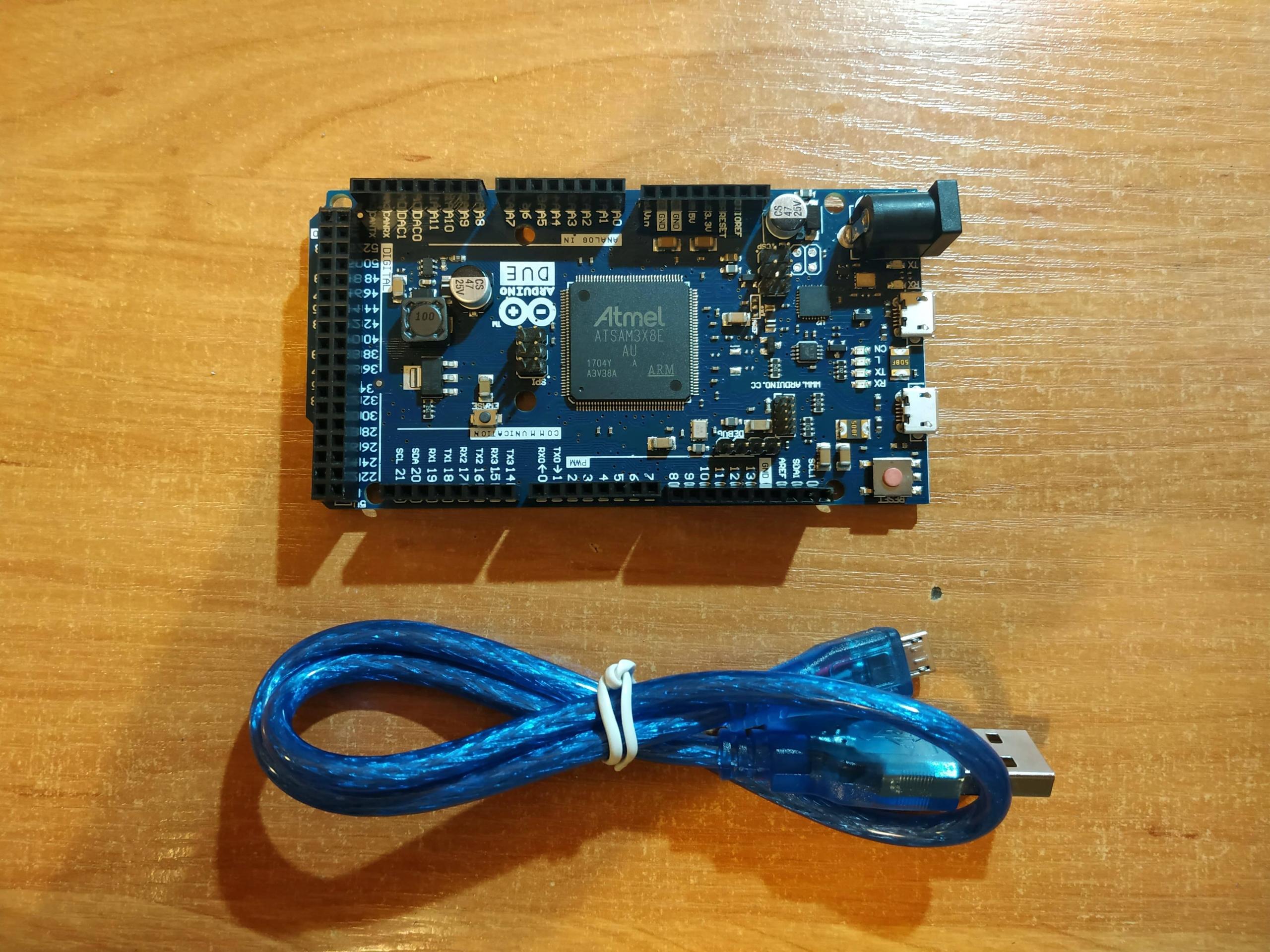 Arduino Duo + kabel, wysyłka z PL!