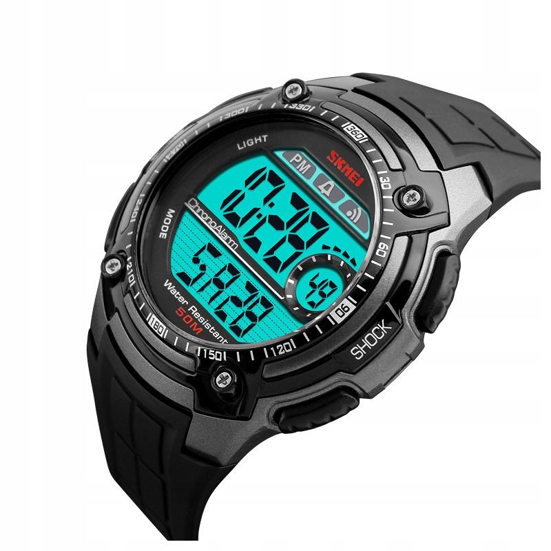 Zegarek męski - SKMEI - elektroniczny - 4 wzory