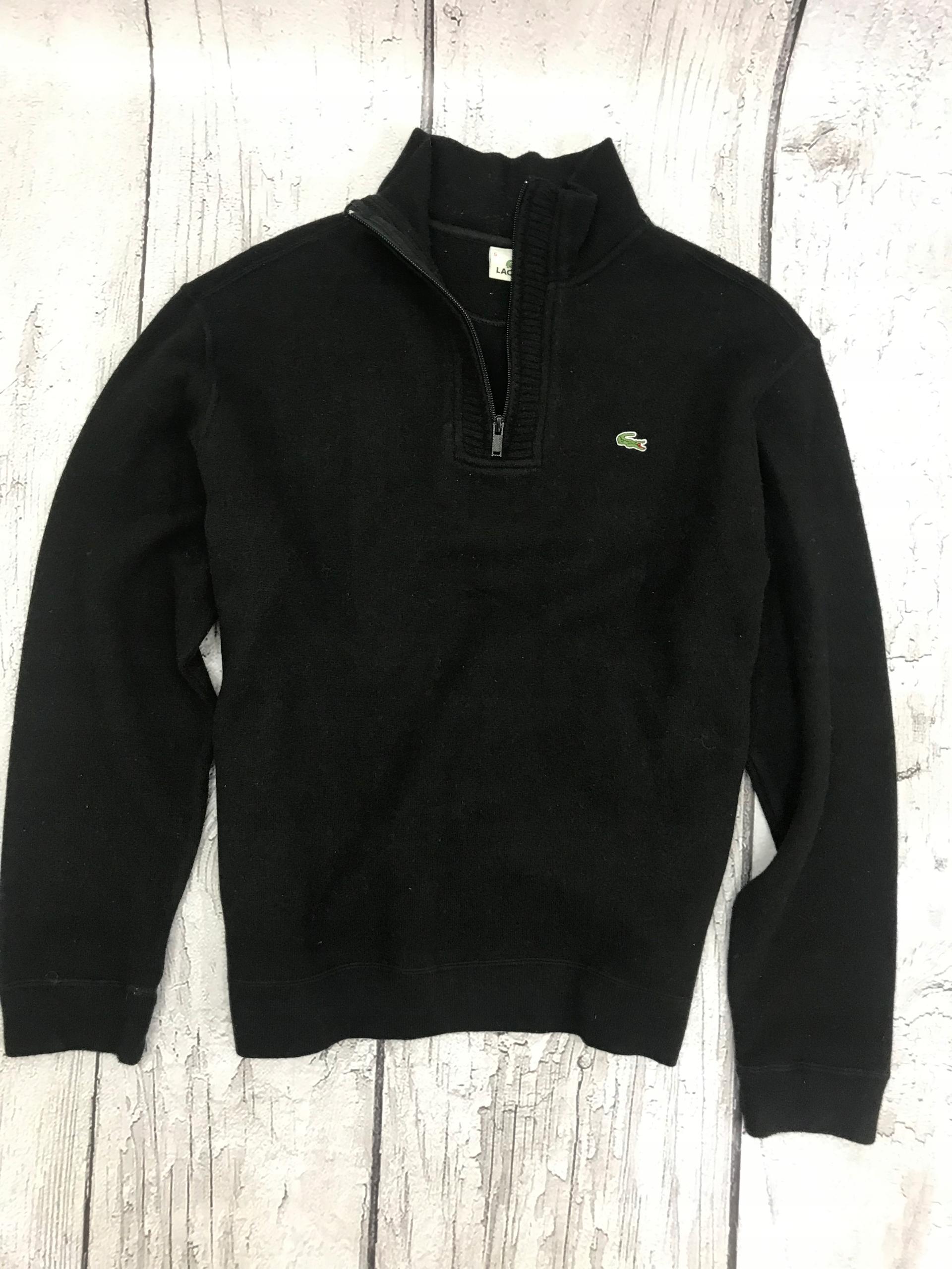 półgolf- sweterek- LACOSTE- XXL