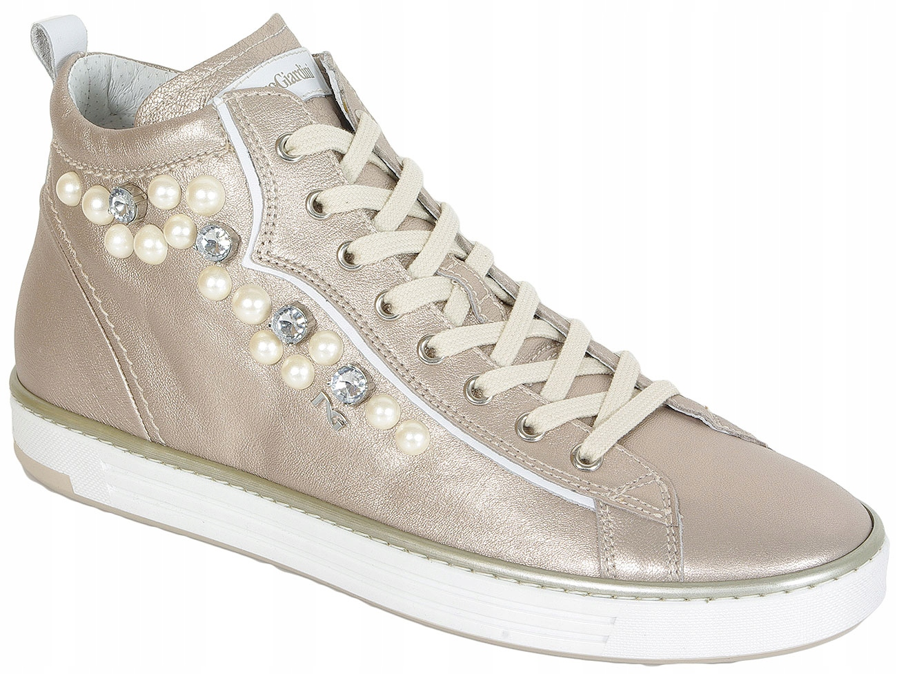 best website 5d3ea 19e4f NeroGiardini SALE P805271D Rosa Antico sneakers 40 ...
