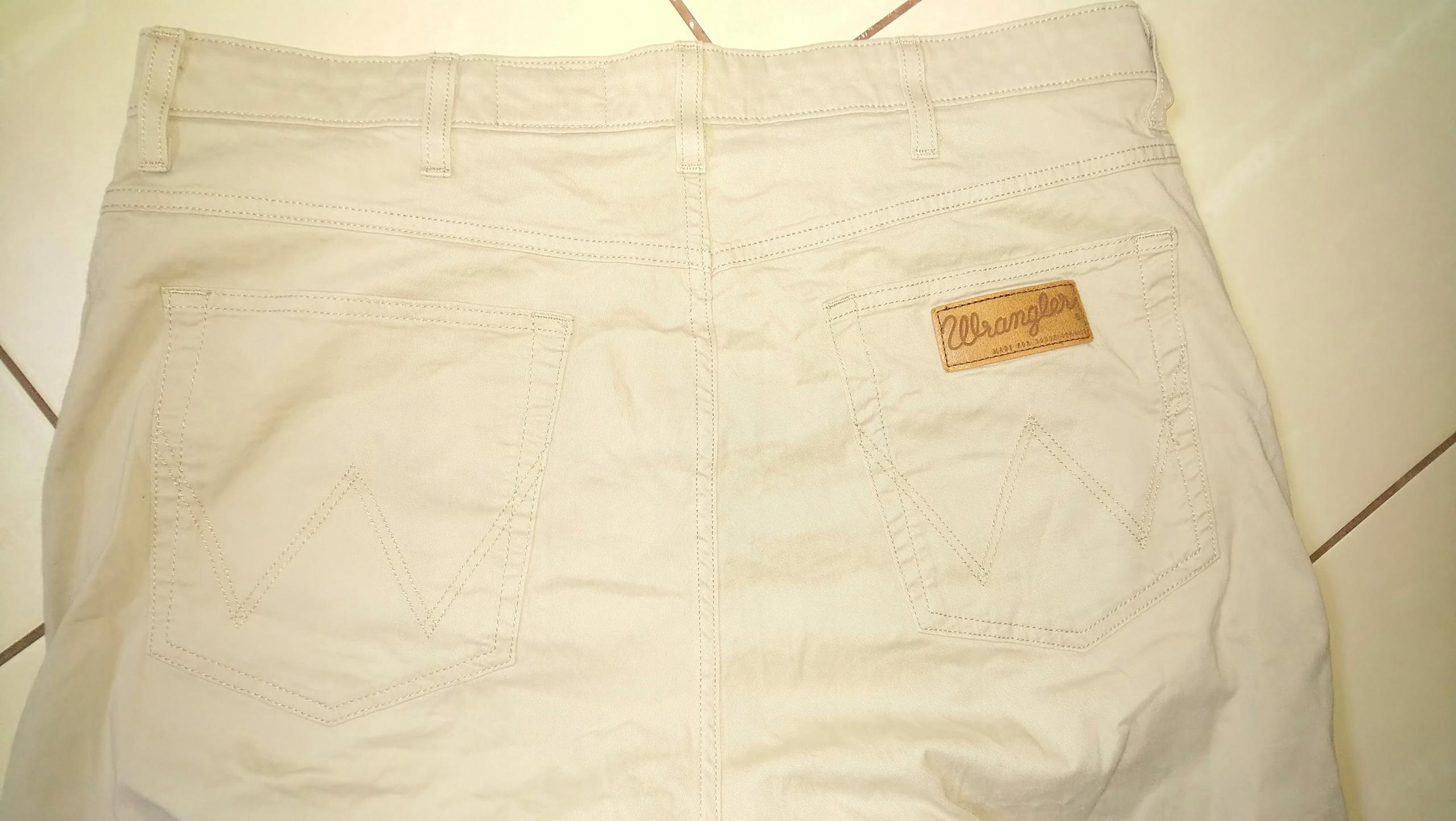 spodnie męskie Wrangler Arizona W38L32 pas96c,d106