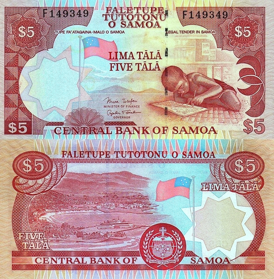 # SAMOA - 5 TALA - 2005 - P-33b - UNC