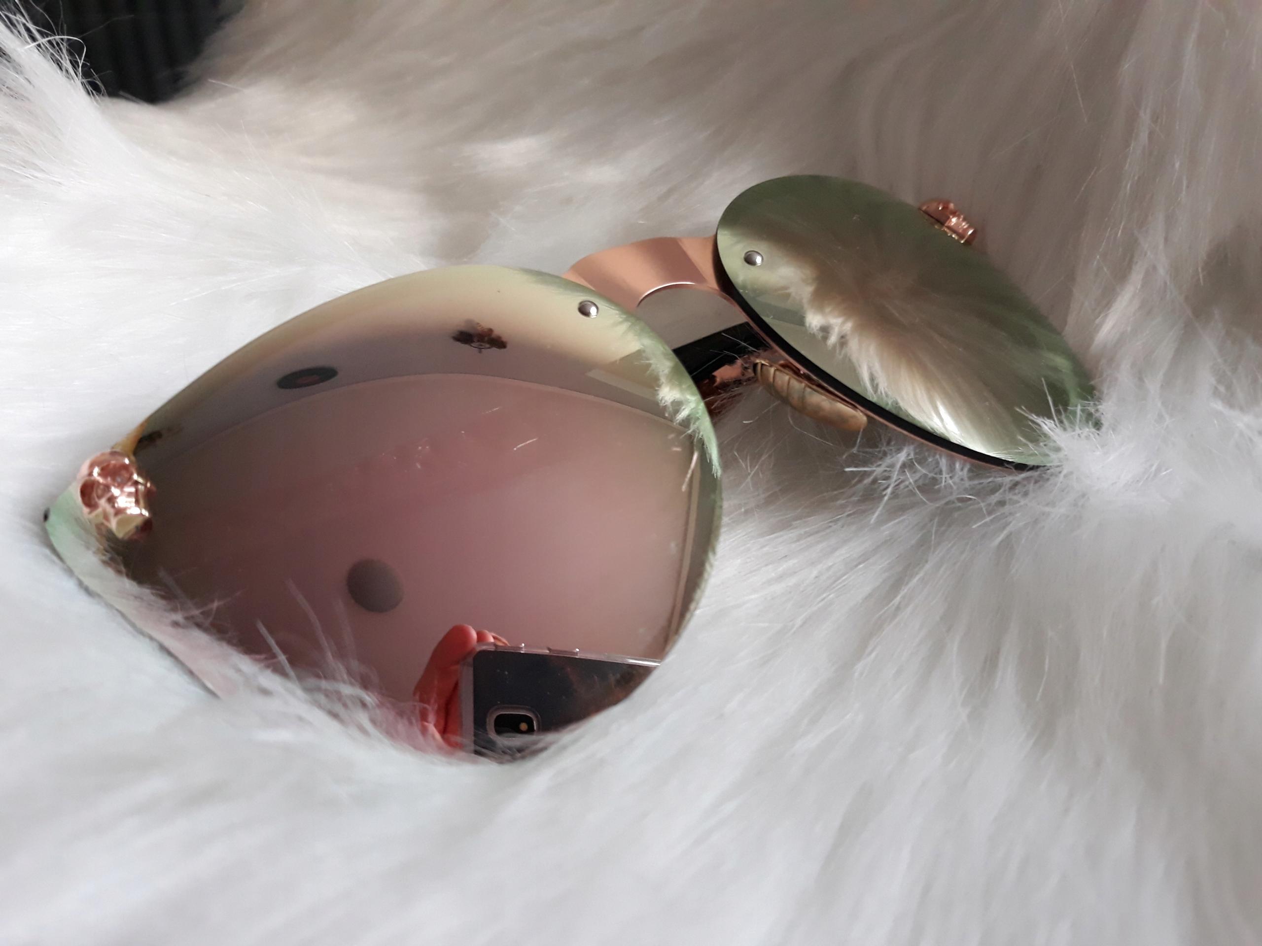 Amazon dollger styl Steampunk Cateye okulary