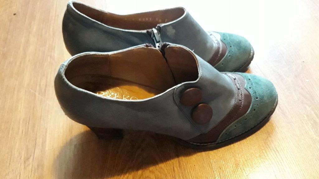 botki półbuty buty 38 RYŁKO