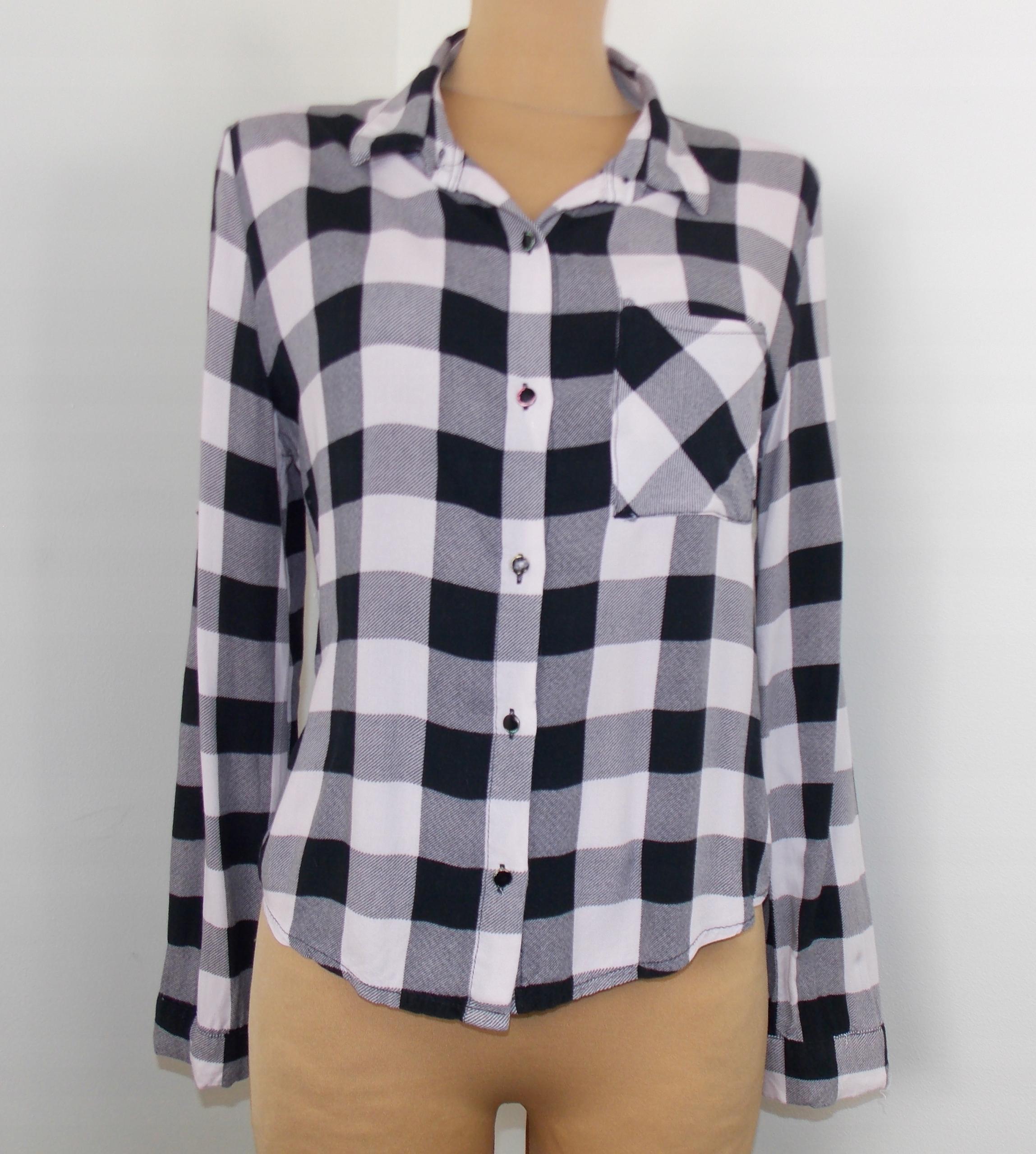 koszula FONDA styl ZARA kratka jesienna 38