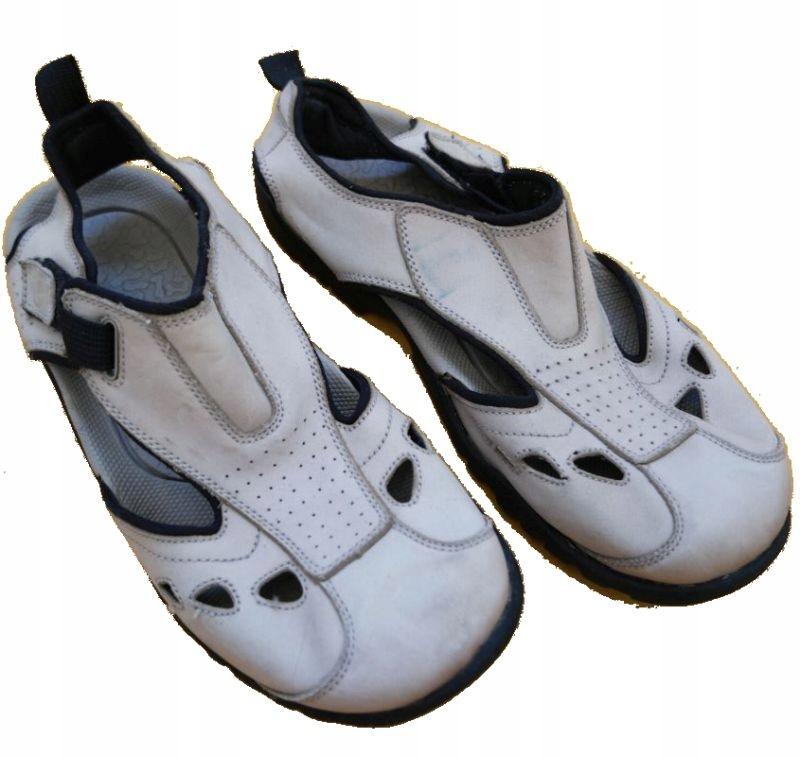 NEXT NX150 Mens Sandals - Sandały Nubuk Męskie