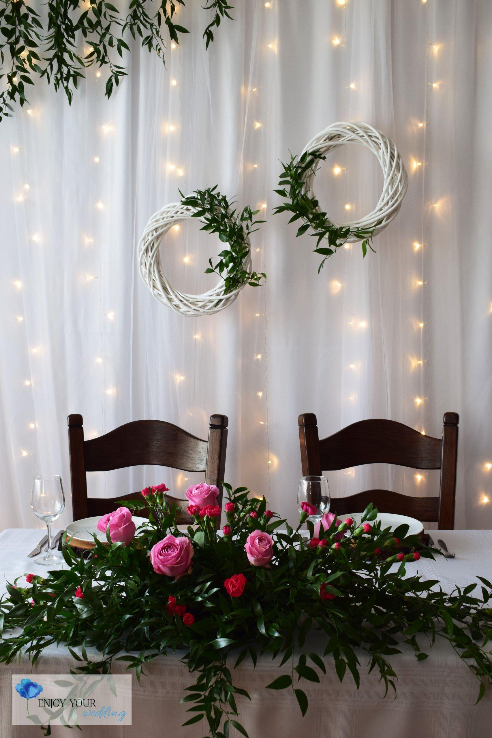 ścianka ślubna Wynajem Dekoracji Podlasie 7414258734